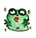 カエルの楽しい毎日(個別スタンプ:25)