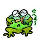 カエルの楽しい毎日(個別スタンプ:34)