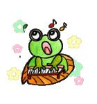 カエルの楽しい毎日(個別スタンプ:37)