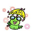カエルの楽しい毎日(個別スタンプ:39)