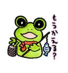 カエルの楽しい毎日(個別スタンプ:40)
