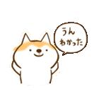 柴ちん2 柴犬とおしゃべり(個別スタンプ:12)