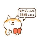 柴ちん2 柴犬とおしゃべり(個別スタンプ:19)