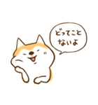 柴ちん2 柴犬とおしゃべり(個別スタンプ:37)
