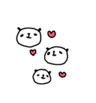 <敬語>いっぱーーいのパンダ♪ many panda(個別スタンプ:40)