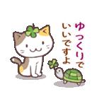 猫と四つ葉のクローバー 5(個別スタンプ:04)