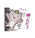 猫と四つ葉のクローバー 5(個別スタンプ:26)