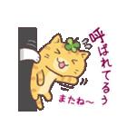 猫と四つ葉のクローバー 5(個別スタンプ:37)