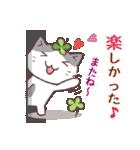 猫と四つ葉のクローバー 5(個別スタンプ:39)