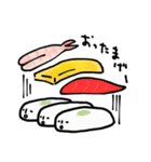 お寿司ですが。(個別スタンプ:17)