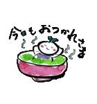 お茶摘み日和(個別スタンプ:15)