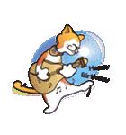 パフォーマンス猫キャラクター「ミュー」2(個別スタンプ:13)