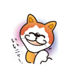パフォーマンス猫キャラクター「ミュー」2(個別スタンプ:24)