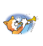 パフォーマンス猫キャラクター「ミュー」2(個別スタンプ:31)