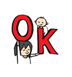 子育て奮闘記~パパへのスタンプもあるよ~(個別スタンプ:17)