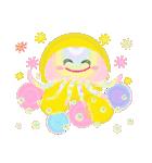 ぷかぷか虹色くらげ(個別スタンプ:3)
