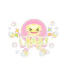 ぷかぷか虹色くらげ(個別スタンプ:5)