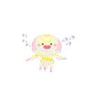 ぷかぷか虹色くらげ(個別スタンプ:20)