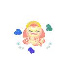 ぷかぷか虹色くらげ(個別スタンプ:23)