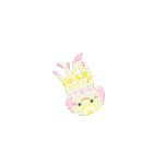 ぷかぷか虹色くらげ(個別スタンプ:24)