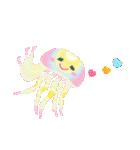 ぷかぷか虹色くらげ(個別スタンプ:25)