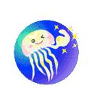 ぷかぷか虹色くらげ(個別スタンプ:28)