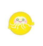 ぷかぷか虹色くらげ(個別スタンプ:32)