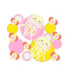 ぷかぷか虹色くらげ(個別スタンプ:36)