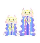 ぷかぷか虹色くらげ(個別スタンプ:40)