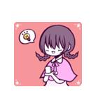 三つ編み少女・ほんわかちゃん(個別スタンプ:24)
