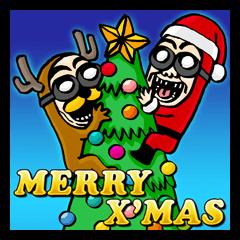 BGメン メリークリスマス!謹賀新年!