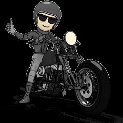 アメリカンバイク ブラックライダー