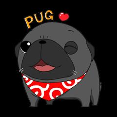 BlackPUG Sticker