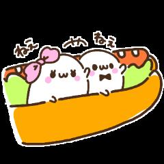 [LINEスタンプ] Merry家のペットたち 2 (1)