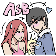 AsB - 8/4 Comic Girls & Playful Boys!