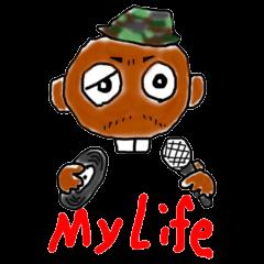 Hiphop MC GOTIT(ガッティ)くんスタンプ