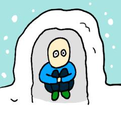 冬本番スタンプ