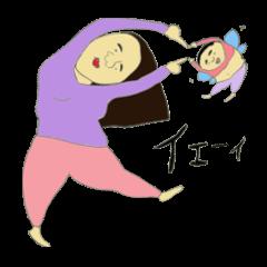 カナと妖精ジュン
