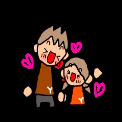 オレンジちゃんとブラウンくん カップル3