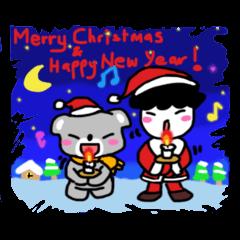 X'mas and Happy New Year! Go! Go! Go!