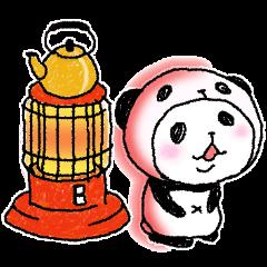 パンダinぱんだ ~冬~