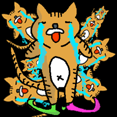 【バブルホイホイ】ナウい猫