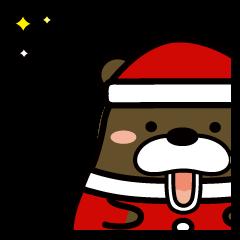 クリスマスのための・クマまみれ(2)