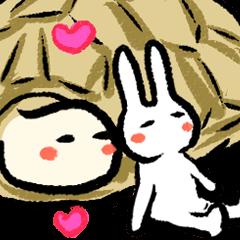 パテとパニー(ウサギとカメ)