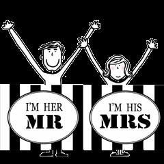 夫婦の為のスタンプ