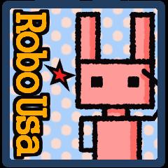 ピンクのうさぎ型ロボット「ロボうさ」