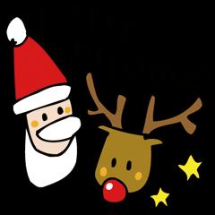クリスマスとお正月スタンプ