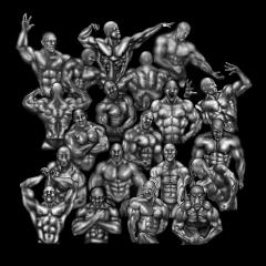 暗闇の筋肉