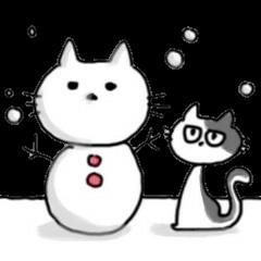 だるだるネコの冬休み