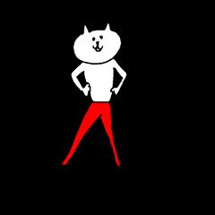 [LINEスタンプ] ぴちぱんネコ